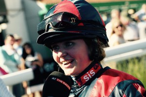 Lulu Stanford - aboard Nicky Baby at Lingfield