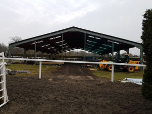 New Indoor school nears completion