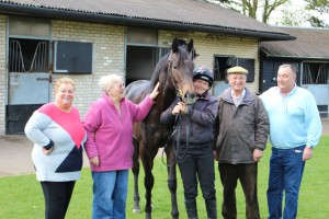 Zebedee colt with new owners