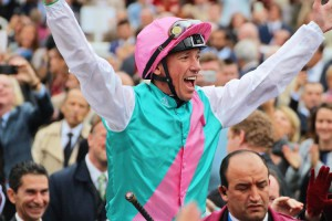 Frankie Dettori at this year's Arc de Triomphe