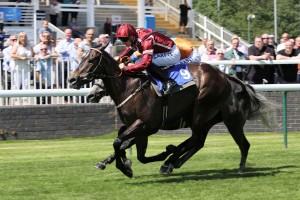 Spring Romance winning at Nottingham, his fifth success