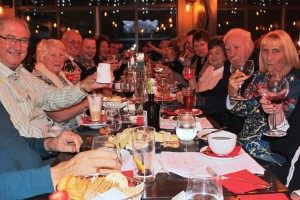 Solario Racing Owners raise a glass