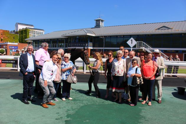 SR Owners in the Winner's Enclosure @ Nottingham 27 June 2019