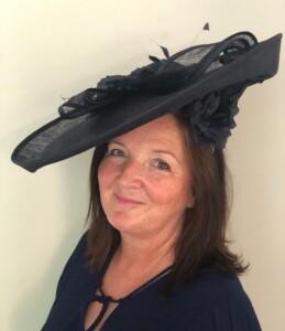 Jane O'Gorman and her winning hat