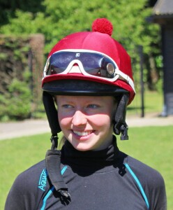 """Sophie Ralston - filly is """"very professional"""""""